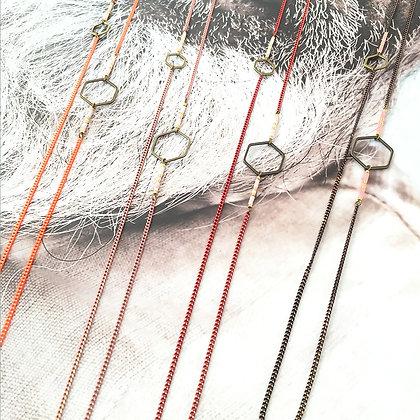 Colliers sautoirs - bijoux jalan joe - modèle Douce