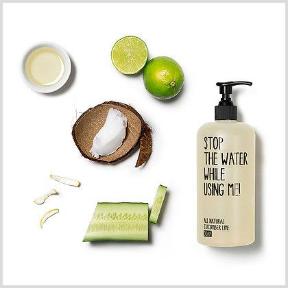 Savon liquide bio - concombre citron vert - stop the water while using me