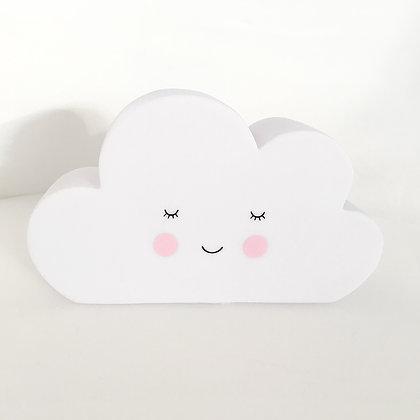 Veilleuse forme nuage chambre d'enfant