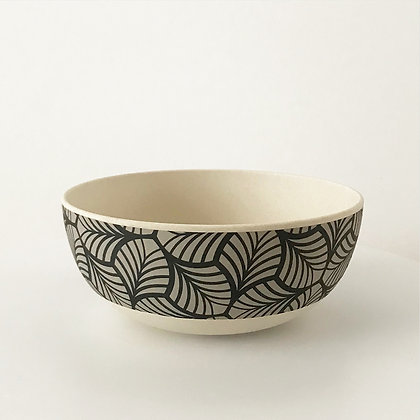 Saladier bambou motif japonisant