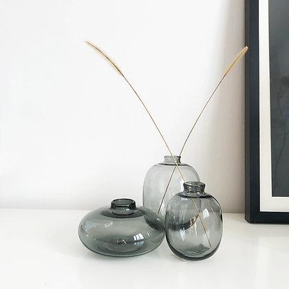 Vases soliflores arrondis 3 modèles