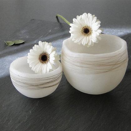 Vases en cire