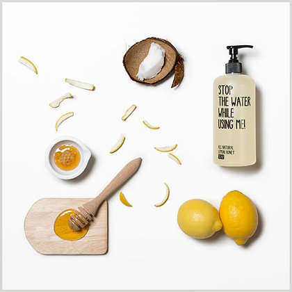 Savon liquide bio citron miel - stop the water while using me