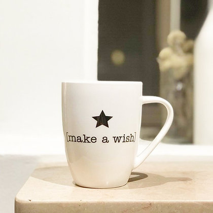 "Tasse étoile ""make a wish"""