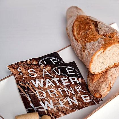 Serviettes cocktail en papier save water