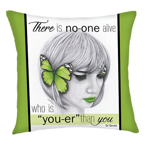 Hear No Evil Cushion Cover