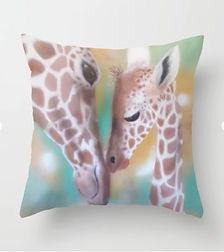 Love Is All Around Us - Throw Pillow 1 -