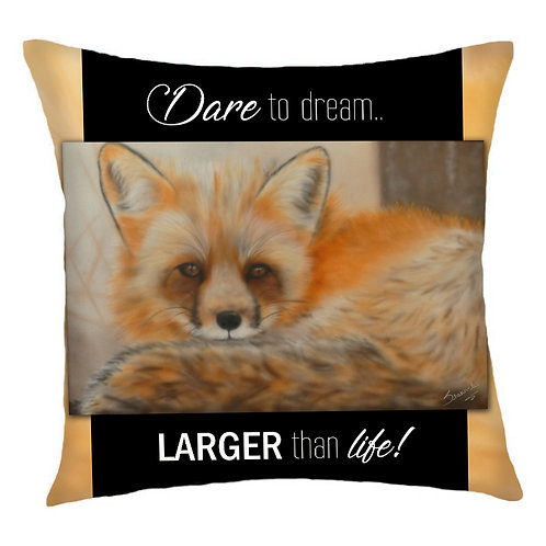 Nylah Fox Cushion Cover