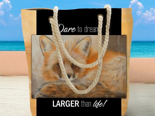 Nylah Fox Tote Bag