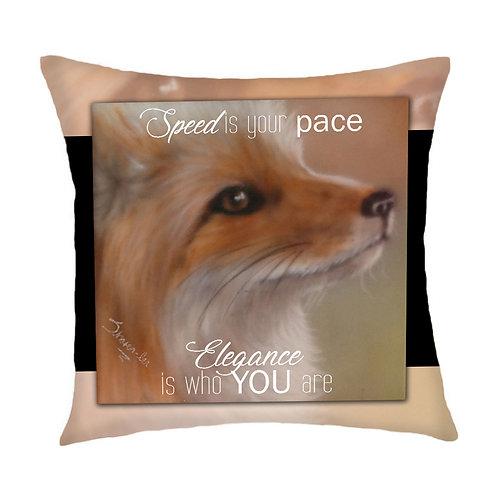 Swift Fox Cushion Cover