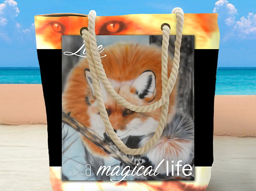 Kitsune Fox Tote Bag