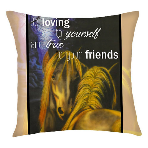 All My Heart Horse Cushion Cover