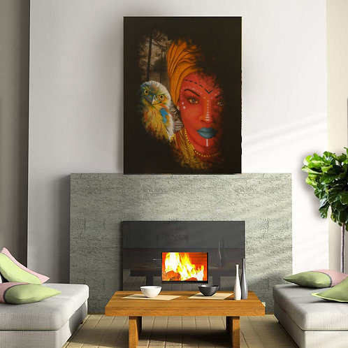 Magic Canvas Print - 120cm x 90cm