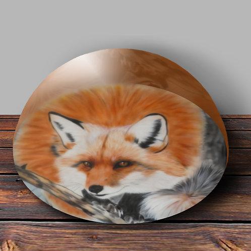 Kitsune Fox Paperweight