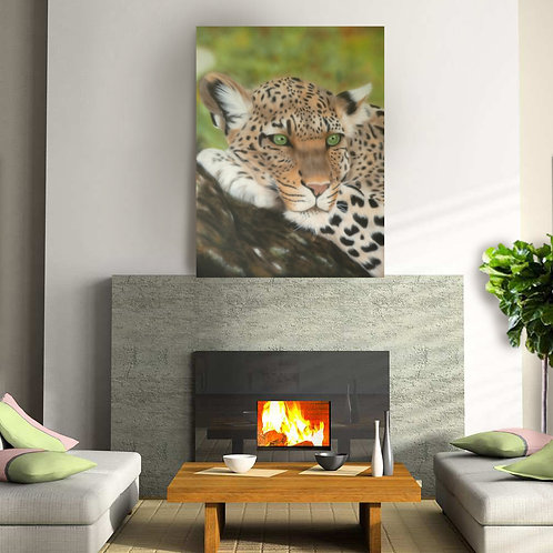 Amber Canvas Print - 120cm x 90cm