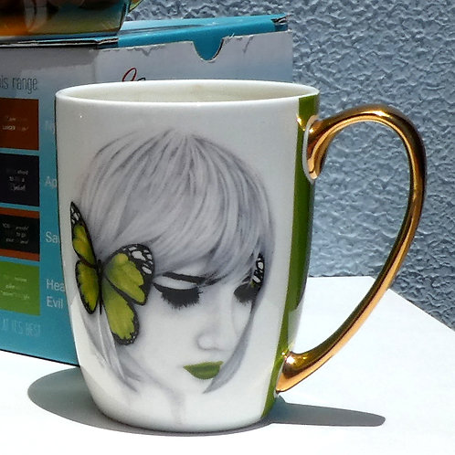 Hear No Evil Coffee Cup