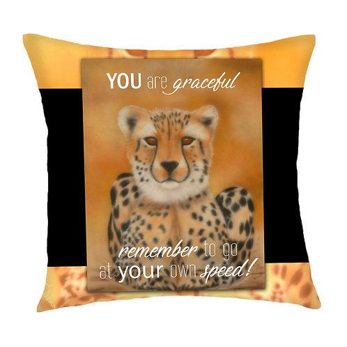 Sahara Cheetah Cushion Cover