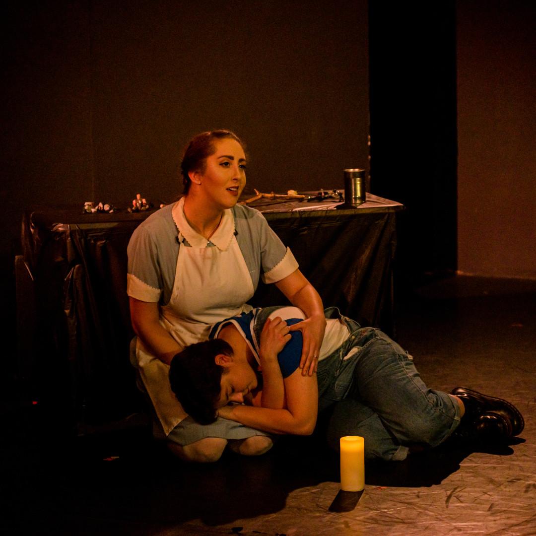 "Catherine in ""Tale of the Sackman"" Photo Credit: Irina Hage"
