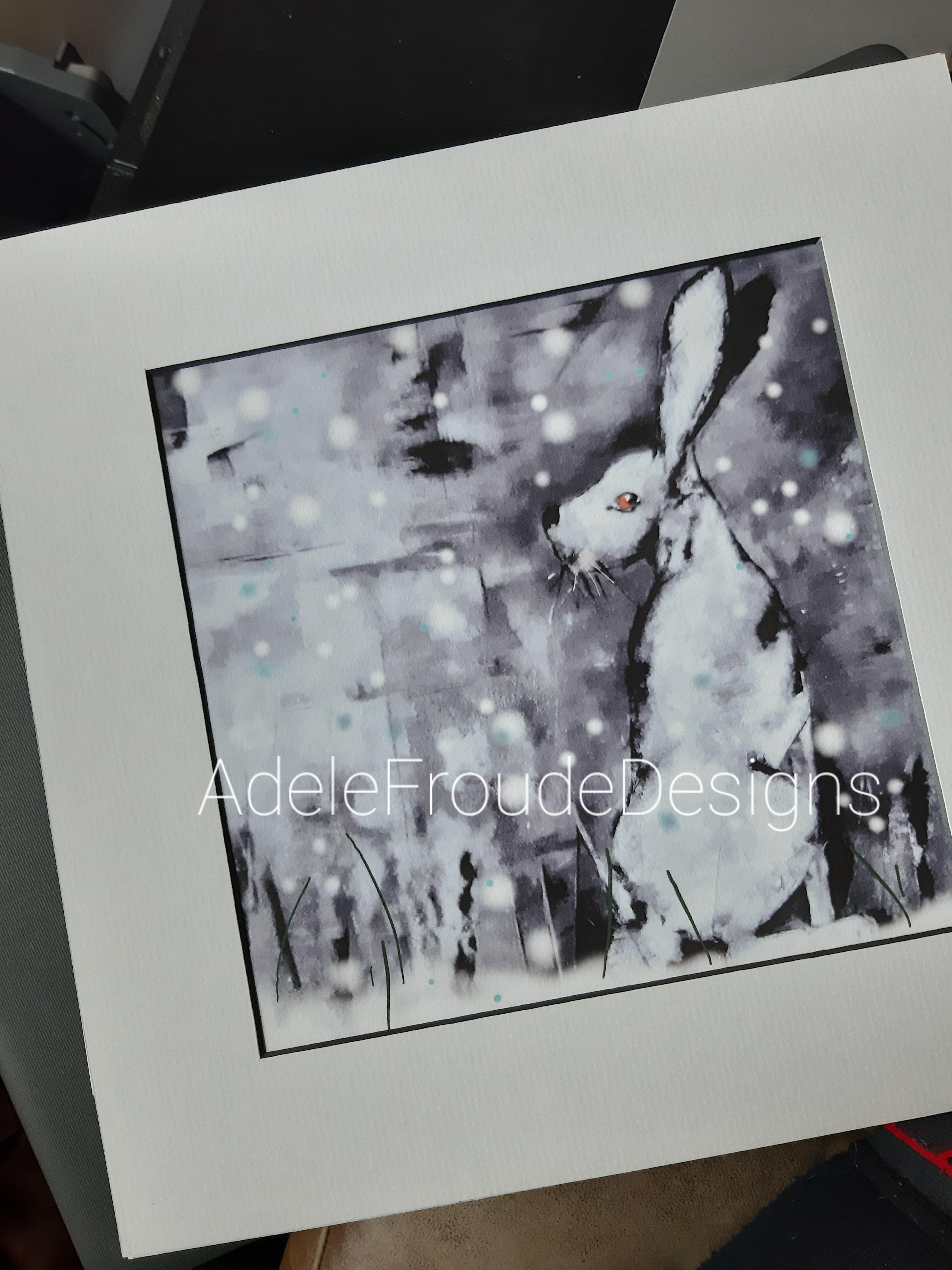 Snow Hare (Print) £60-£70