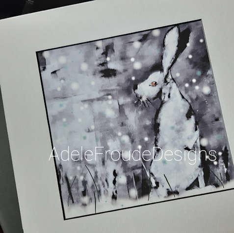 Snow Hare (Print) £60-£70 .jpg