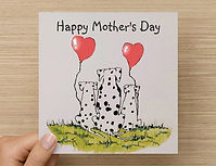 Happy Mothers Day card option 2