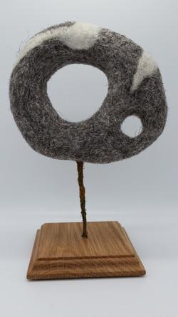 Hag stone sculpture