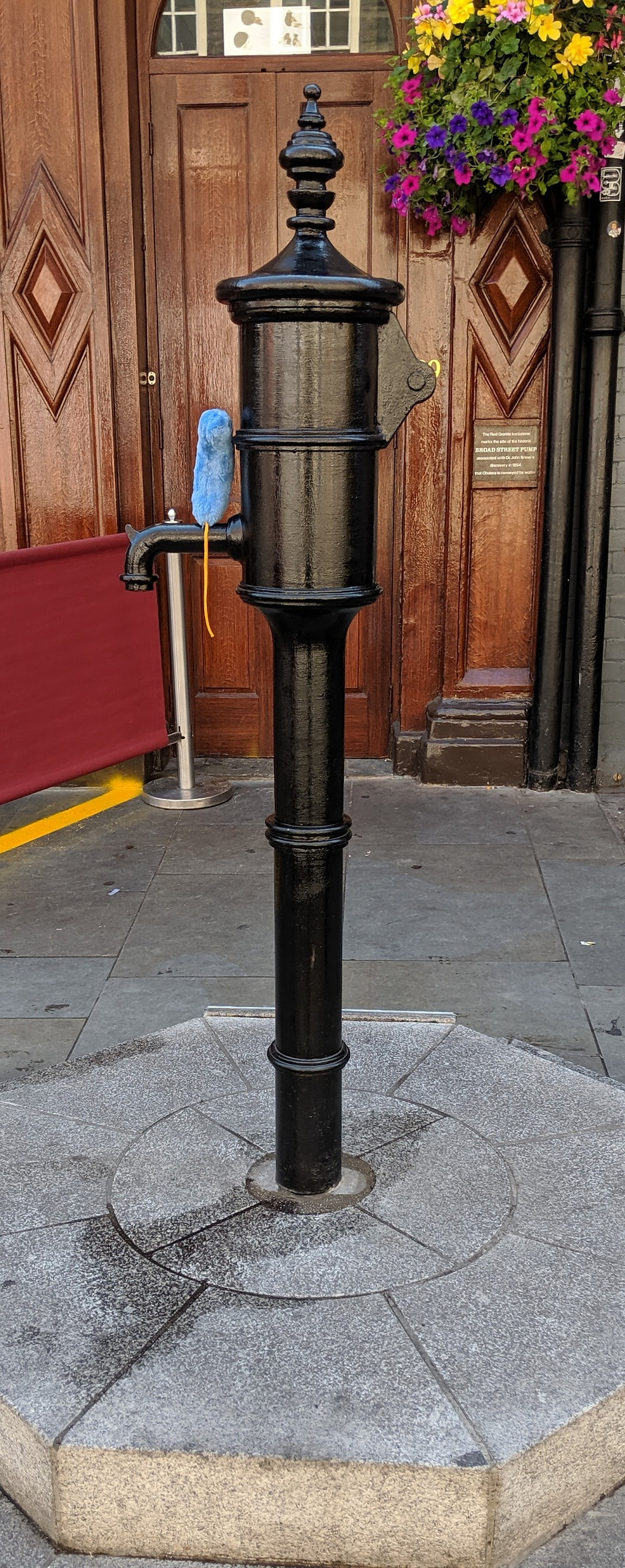 Broad Street water pump, the sight of the cholera outbreak