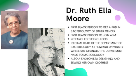 Dr. Ruth Ella Moore, Ph.D.: A Fashionista Microbiologists A True Pioneer For Black Female Scientists