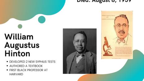 William Hinton: Harvard's First Black Professor, Passionate Teacher, Syphilis Researcher