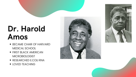 The History of Dr. Harold Amos: First Black Microbiologist, Francophile, Teacher, Lover of Science