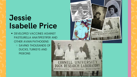 Looking at the History of Dr. Jessie Isabelle Price: A Research Most Fowl