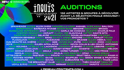 Les Inouïs du Printemps de Bourges 2021 : MIMAA sélectionnée pour les auditions régionales !