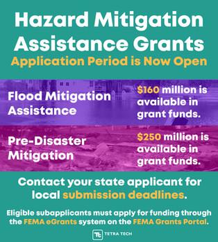 Info Flyer for Hazard Mitigation Application