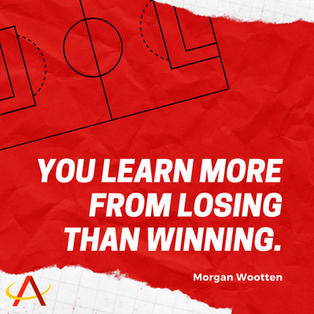 Red Paper Football Quote UAAP_NCAA Insta