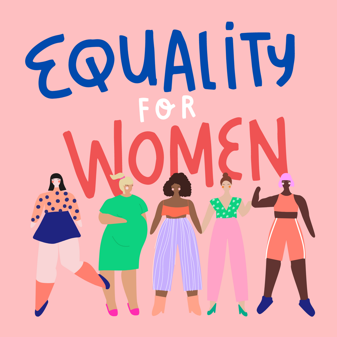 Colorful Equality International Women's