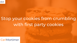 Stop your cookies from crumbling with first party cookies