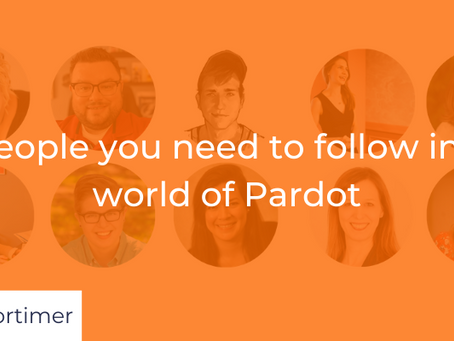 10 people you need to follow in the world of Pardot