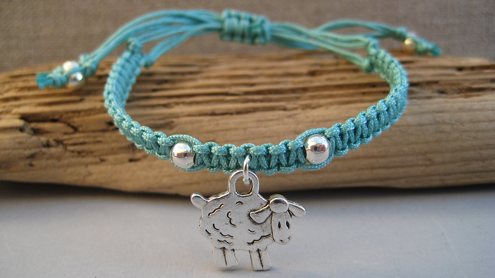 Sheep Neat Knot adjustable bracelet