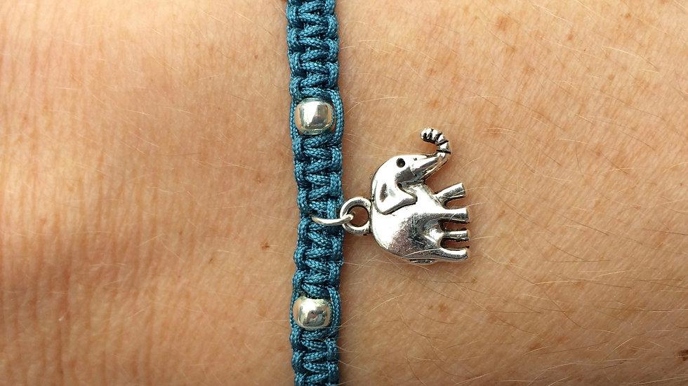 Elephant Neat Knot adjustable bracelet