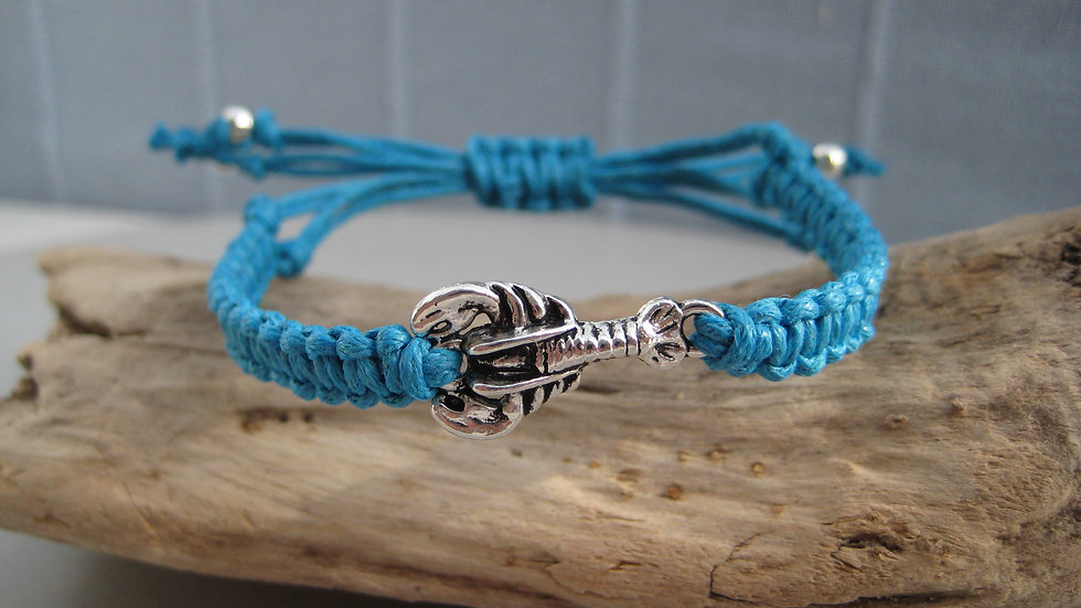 Lobster Neat Knot adjustable bracelet