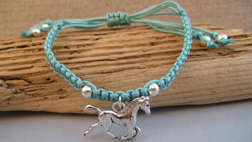 Horse Neat Knot adjustable bracelet