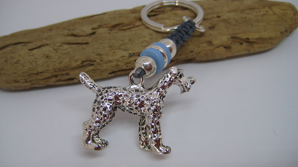 Large Terrier Keyring