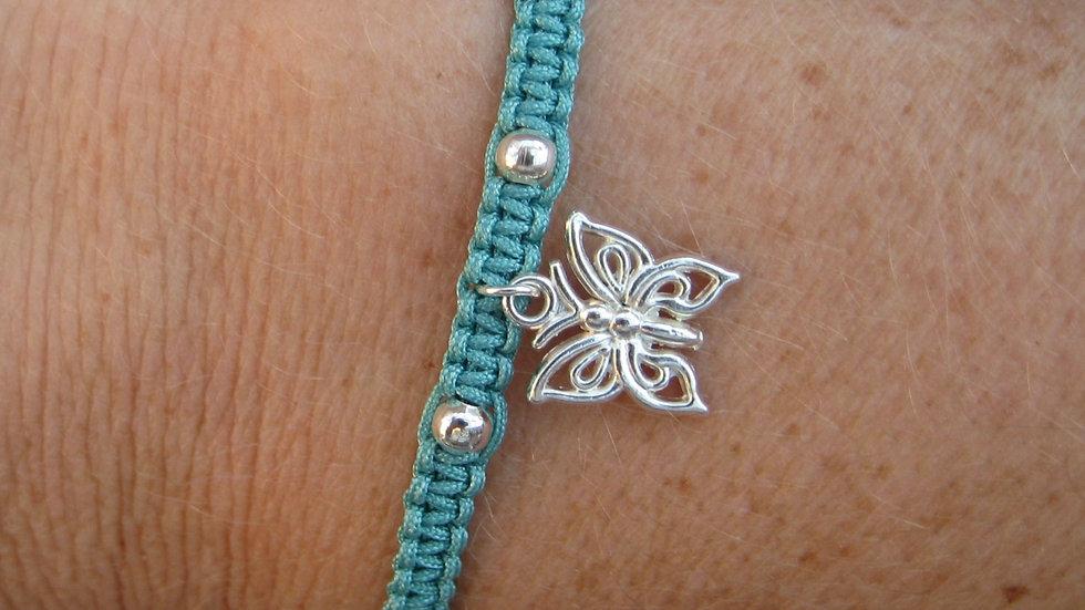 Butterfly Neat Knot adjustable bracelet