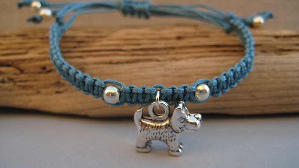Terrier Neat Knot adjustable bracelet
