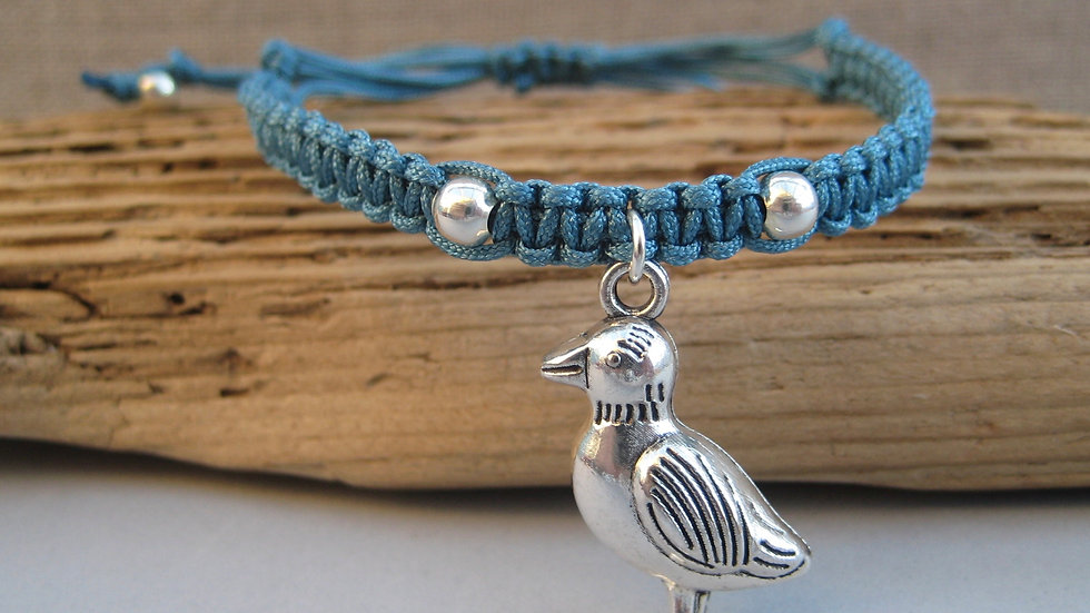 Puffin Neat Knot adjustable bracelet
