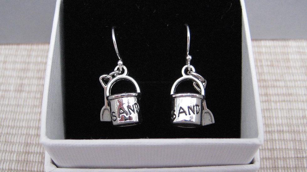 Bucket and Spade Earrings