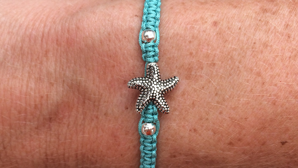 Starfish Neat Knot adjustable bracelet