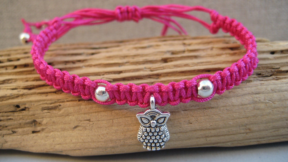 Owl Neat Knot adjustable bracelet