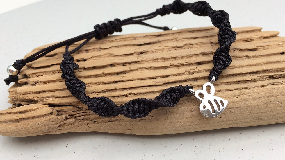 Bee Neat Knot adjustable bracelet