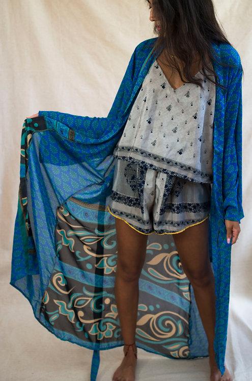 Ocean Waves Kimono